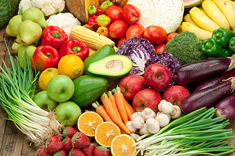 Winter Fruits and Vegetables